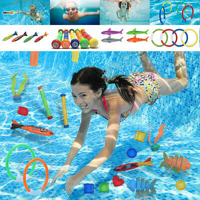 Kids Adults Diving Pool Game Toys Summer Underwater Swimming ...