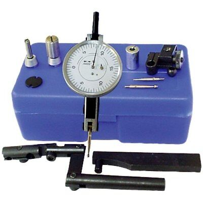 "HHIP 4400-0014 Swiss Style Dial Test Indicator Kit with .0005"" Graduation, 0-.06"