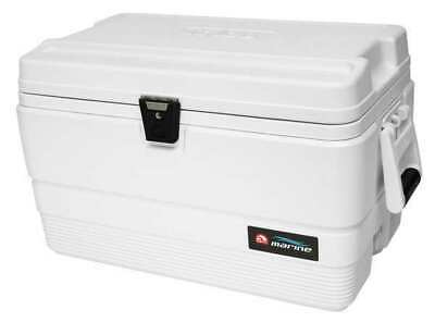 IGLOO 44683 Chest Cooler,Marine,54 qt.,White