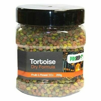 PROREP TORTOISE DRY FORMULA FRUIT & FLOWER FOOD PELLETS 200g 5055312370704