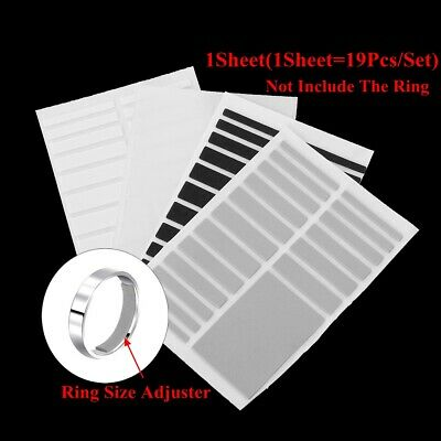 Sticker Invisible Reducer Ring Size Adjuster Set Adjuster Pad Resizing Tools