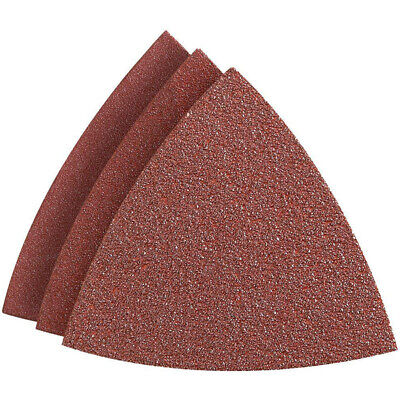 80x80mm Triangle sanding Cleaning Furnishing Orbital Abrasive Pads 100pcs