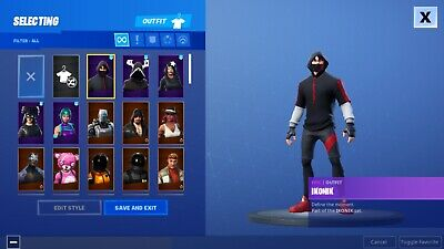 Fortnite Account With 40 Rare Skins The Reaper And Og Battle Pass