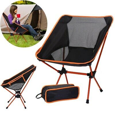 Outdoor Camping Chair Folding Garden Director Fishing Picnic Seat Beach 150KG AD
