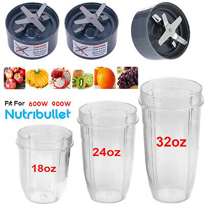 Replacement Blender Part for NutriBullet 600W Extractor Blades 24oz 32oz Cup