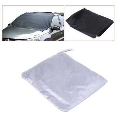 Magnetic SUV Front Car Windscreen Cover Anti Snow Frost Ice Shield Protector Kit