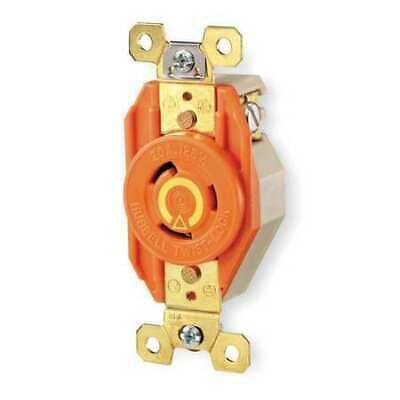 HUBBELL WIRING DEVICE-KELLEMS IG2610 30A Isolated Ground Locking Receptacle 2P