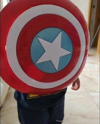 New The Avengers Captain 32CM Captain America Assemble Shield Cosplay Toy Red