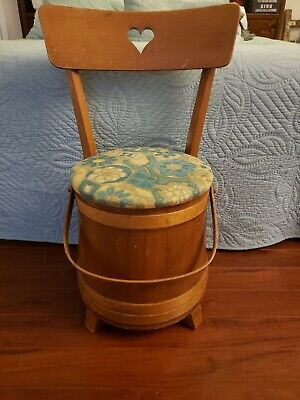 Unique 1930's Sugar Bucket Chair