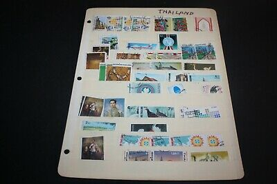 Nice LOT of THAILAND STAMPS Removed from Albums THAI10JUL