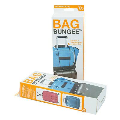 Travelon The Bag Bungee - Black Luggage Accessorie NEW