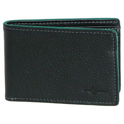 Buxton RFID Front Pocket Slimfold - Green Men's Wallet NEW