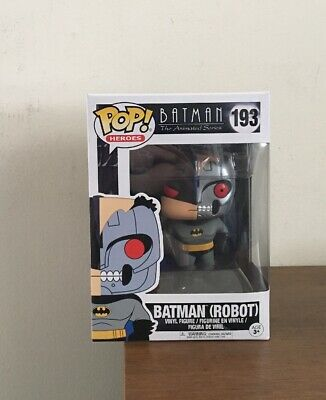 Batman Animated Series Robot Batman Funko Pop Vinyl Figure #193 New