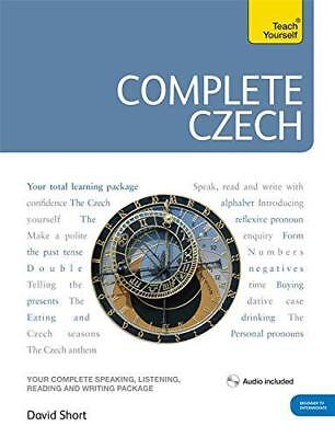 Teach Yourself Complete Czech (TY complete Courses) by David Short, NEW Book, FR