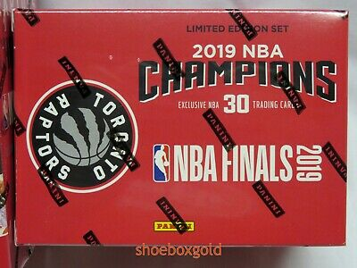 Toronto RAPTORS NBA CHAMPIONSHIP BOX SET, Kawhi Leonard and Kyle Lowry, Presale