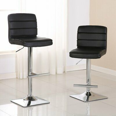 Astounding Roundhill Furniture Adjustable Height Wood And Chrome Metal Bralicious Painted Fabric Chair Ideas Braliciousco