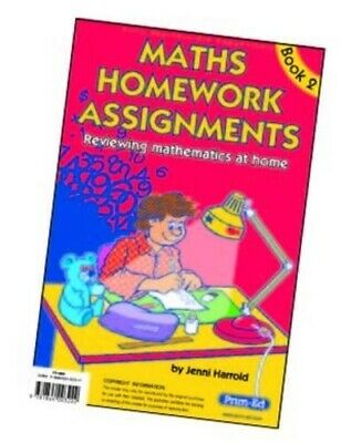Maths Homework Assignments: Level 2 by Harrold, Jenni Paperback Book The Fast