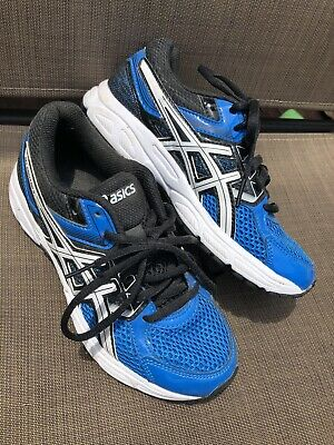 boys asics trainers size 5