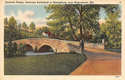 C21-9331, ANTIETAM BATTLEFIELD MARYLAND.  Postcard.