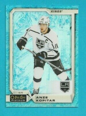 2018-19 OPC Platinum ANZE KOPITAR ARCTIC FREEZE BLUE SP /79