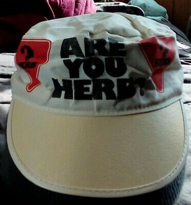 Vintage Are You Herb?1985 Burger King Employee Painter Hat