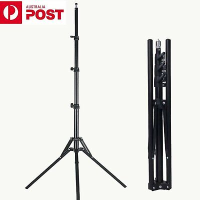 AU 1.8M Folding Reverse Light Stand for Photography Studio Lighting Flash Strobe