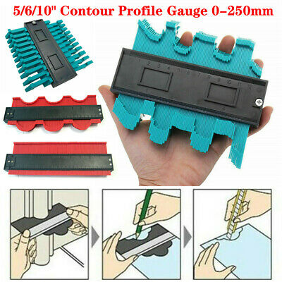 "5/6/10"" Shape Contour Duplicator Profile Gauge Tiling Laminate Tile Edge Shape"
