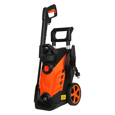 Electric High Power Pressure Washer 1860 PSI/128 BAR Water Cleaner Patio Car Jet