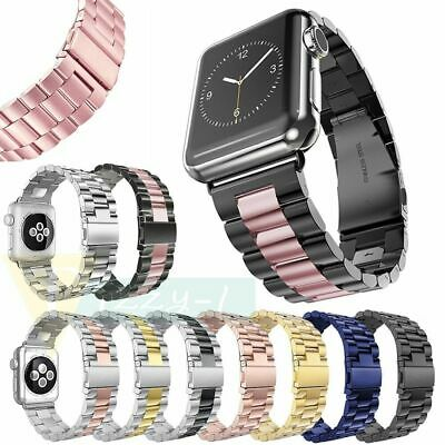 New Stainless Steel Watch Bands Strap For Apple iWatch Series 4/3/2/1 38mm/44mm