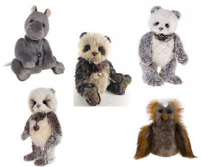 SALE 10% OFF Charlie Bears Collection - Highly Collectable Teddy Bears