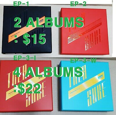 ATEEZ TREASURE Album EP.1:All To Zero+EP.2:Zero To One/EP.3:One To All /2 Albums