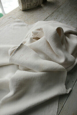 Pair of Antique European Softly Worn Linen Towels 18th Century