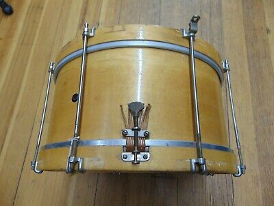 Vintage 7 x 15 Oliver Ditson Snare Drum, Single Ply Maple Clean!