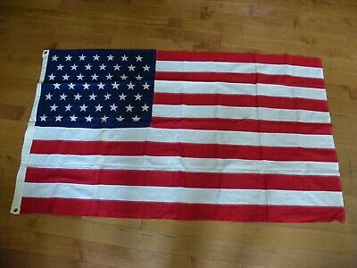 Vintage 49 Star American Flag, 3 x 5,  Cotton Fabric