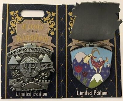 Disneyland Park 2019 It's a Small World Crests of the KIngdom LE Disney Pin