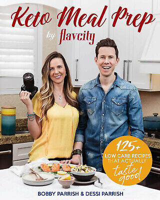 Keto Meal Prep by FlavCity: 125+ Low Carb Recipes That Actually.. -  DIGITAL