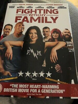 Uk Dvd Fighting With My Family