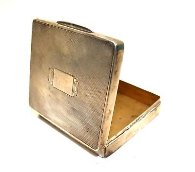 Vintage SILVER HALLMARKED Card Carrying Case / UNBOXED - P37