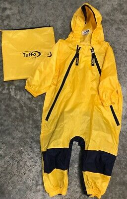 d02e33e6acf6e9 TUFFO MUDDY BUDDY Waterproof Coveralls Rain Suit Jacket Coat 12 mo ...