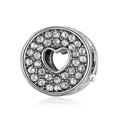 NEW European Silver plated Charm Bead Fit sterling 925 Necklace Bracelet F#046