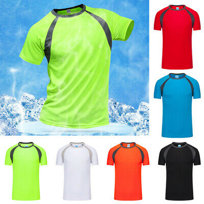 Men's Tops T shirts Gym Tops Casual Stylish Fitness Breathable Sport Workout
