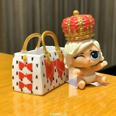 LOL SURPRISE DOLL LIL SISTER SERIES 5 LILS MAKEOVER LEADING BABY with bag BJUS