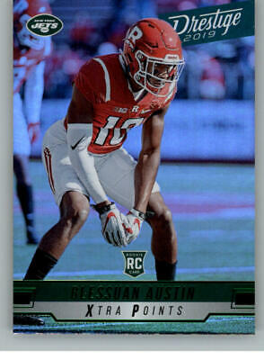 2019 Panini Prestige Xtra Points Green Football NFL Cards Pick From List 151-300