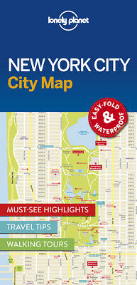 Lonely Planet New York City Map, Lonely Planet