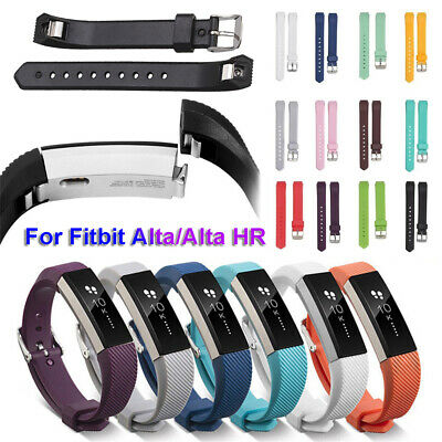 Watch Strap Silicone Wristband Replacement Bracelet For Fitbit Alta and Alta HR