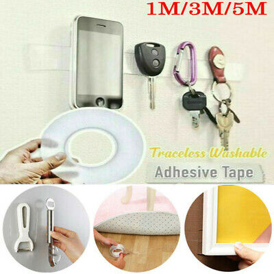 Double-sided Grip Tape Traceless Washable Adhesive Nano Invisible Gel Tapes AU