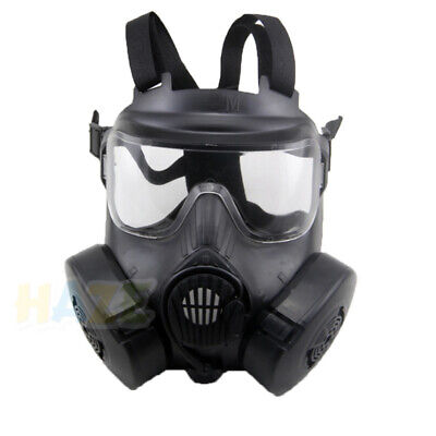 Military M50 Gas Mask CS Field Army Fan Riding Mask Full Face With Box Cos Mask