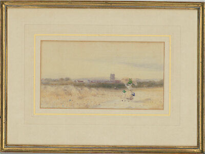 Attrib. Frederick Barry - Late 19th Century Watercolour, A View of Gloucester