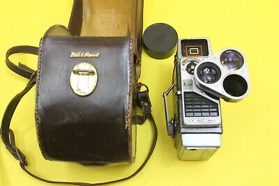 Vintage Bell & Howell 8mm Movie Flim Camera Clockwork Untested ##REC01JWG