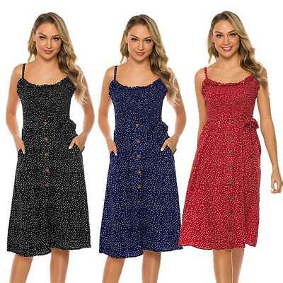 Holiday Strappy Women Dress Casual Sun Dresses Short Hot Beach Pleated Summer